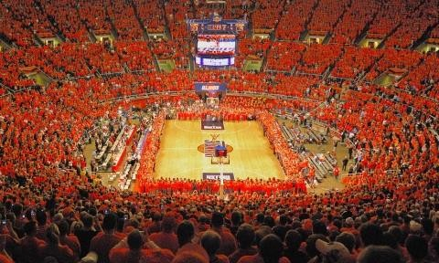 Kentucky's Assembly Hall (UIUC) Record