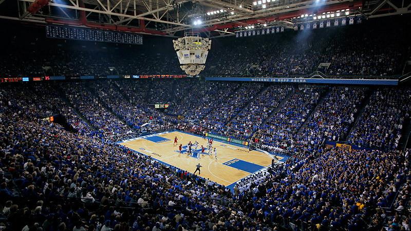 Kentucky's Rupp Arena Record