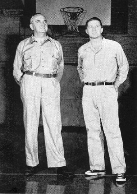 Rupp and Assistant Harry Lancaster