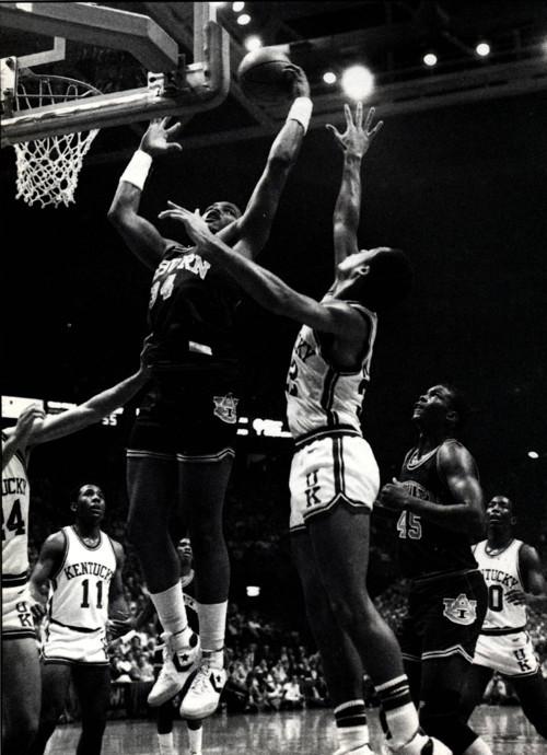 Auburn at Kentucky (January 15, 1983)
