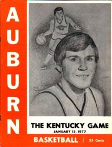 Kentucky at Auburn (January 15, 1977)