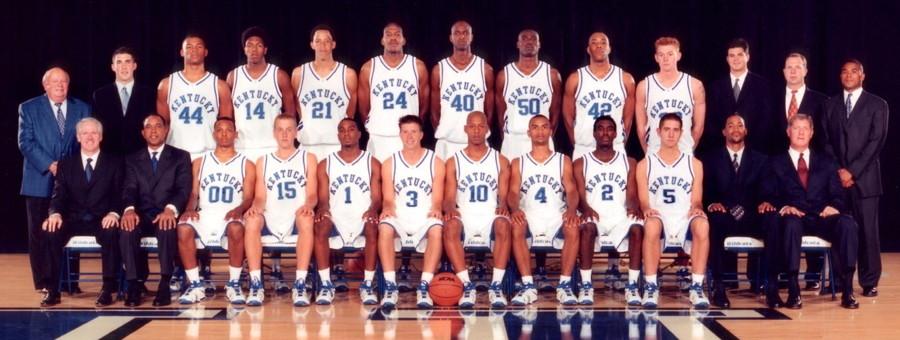 2001 2002 Kentucky Wildcats