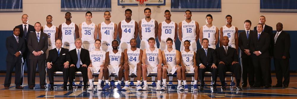 Kentucky Wildcats 2014 15 Men S Basketball Roster: 2014-2015 UK Basketball Team Picture/poster?